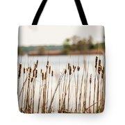 Lake Mattamuskeet Nature Trees And Lants In Spring Time  Tote Bag