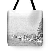 Lake Tahoe Rocky Point Tote Bag