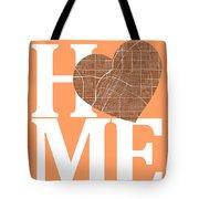 Las Vegas Street Map Home Heart - Las Vegas Nevada Road Map In A Tote Bag