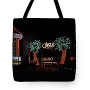 Las Vegas With Watercolor Effect Tote Bag