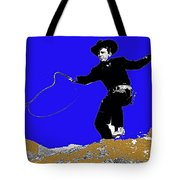 Lash Larue Bull Whip Publicity Photo Tote Bag