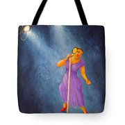 Latina Jazz Diva Tote Bag