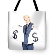 Laughing All The Way To The Bank Tote Bag