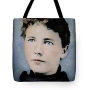 Laura Ingalls Wilder (1867-1957) Tote Bag