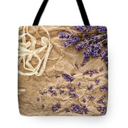 Lavender Flowers And Seeds Tote Bag