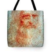 Leonardo Da Vinci (1452-1519) Tote Bag