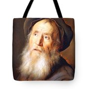 Lievens' Bearded Man With A Beret Tote Bag