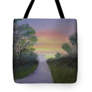 Light At The Other End Tote Bag
