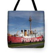 Light Vessel Overfalls Tote Bag