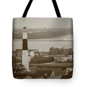 Lighthouse - Atlantic City Tote Bag