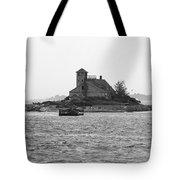 Lighthouse Island - Portland Maine Tote Bag