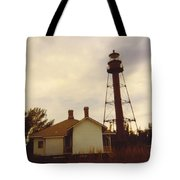 Lighthouse Landscape Tote Bag