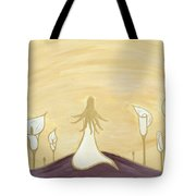 Lilies Of The Field Tote Bag