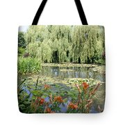 Lily Pond - Monets Garden Tote Bag