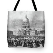 Lincoln Inauguration, 1865 Tote Bag