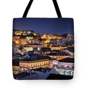 Lisbon Downtown Tote Bag