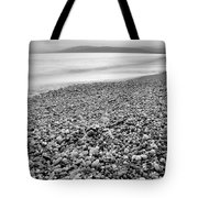 Little Stones At The Silver Sea Tote Bag