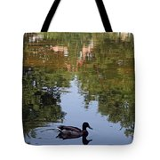 Living In Reflections Tote Bag