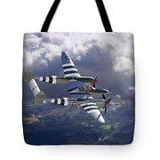 Lockheed P-38 Lightning Tote Bag