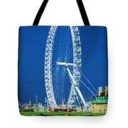 London Eye Westminster Bridge Tote Bag