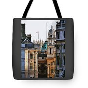 A Vision Of London's Skyline Tote Bag