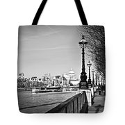 London View From South Bank Tote Bag