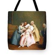 Longhi's The Stimulated Faint Tote Bag