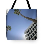 Looking Up In Beverly Hills Tote Bag