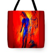 If I Tell You Love Is In The Air You Will Believe That Love Is In Your Ear  Tote Bag
