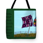 Love Of A Quilt Tote Bag