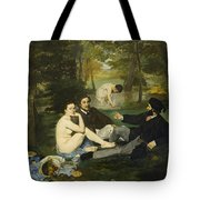 Luncheon On The Grass Tote Bag
