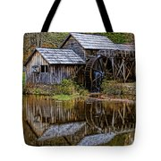 Mabry Mill Tote Bag by Ola Allen