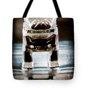 Mack Truck Hood Ornament Tote Bag