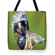 Malachite Butterfly Metamorphosis Tote Bag