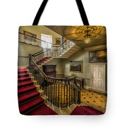 Mansion Stairway Tote Bag