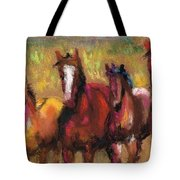 Mares And Foals Tote Bag