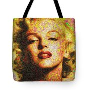 Marilyn Monroe - 100 Dollars Tote Bag