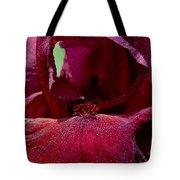 Maroon Iris 2 Tote Bag