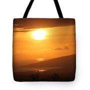 Maui Kulamalu Sunset Tote Bag