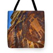 Mckee Springs Petroglyph - Utah Tote Bag