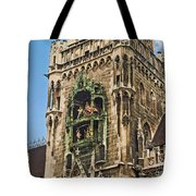 Mechanical Clock In Munich Germany Tote Bag