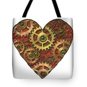 Mechanical Heart Tote Bag