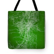 Medellin Street Map - Medellin Colombia Road Map Art On Colored  Tote Bag