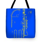 Medical Probe For Injecting Xray Contrast Patent 1970 Tote Bag