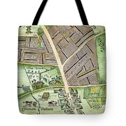 Medieval English Manor Tote Bag