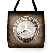 Mercedes-benz 6.3 Amg Gullwing Emblem Tote Bag