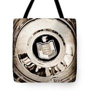 Mercury Wheel Emblem Tote Bag