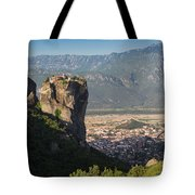 Meteora, Thessaly, Greece. The Eastern Tote Bag