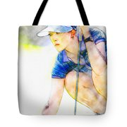 Michelle Wie - Third Round Of The Lpga Lotte Championship Tote Bag