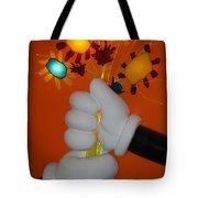 Mickeys Flowers Tote Bag